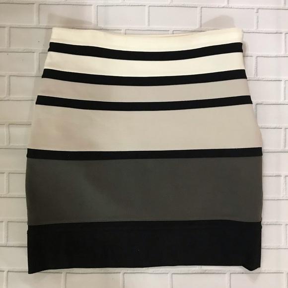 Express Dresses & Skirts - Express bandage striped career skirt